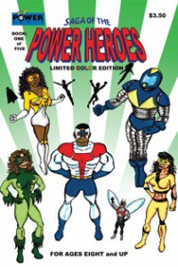 Saga of the Power Heroes issue 01