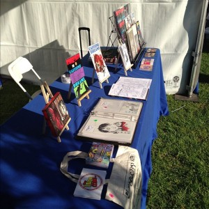 BuyIndieComics.com at the West Hollywood Book Fair 2012