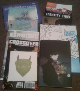Comikaze Day 01 Books from the Show