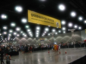 Comikaze Day 01 Quidditch Pitch