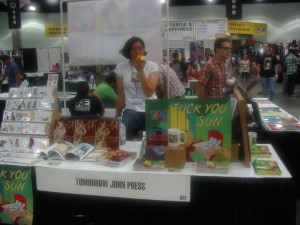 Comikaze Day 01 Tomorrow John Press