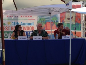 Josh Dysart at The West Hollywood Book Fair