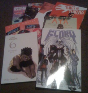 Wednesday Knight's Haul - 09.15.2012