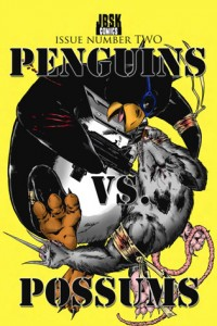 Penguins vs Possums #02 cover