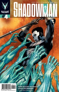 Shadowman #4 cover