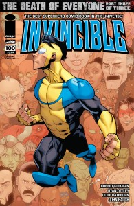 Invincible 100 cover 2nd printing