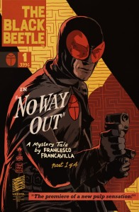 The Black Beetle No Way Out 01 reprint cover