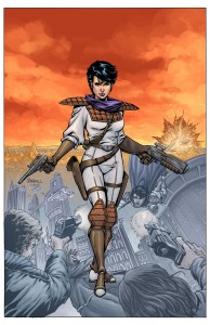 Trekker in Dark Horse Presents #25