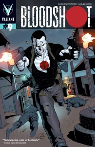 Bloodshot #9 cover