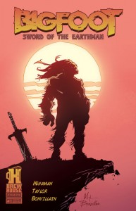 BIGFOOT - SWORD OF THE EARTHMAN cover