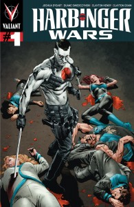 Harbinger Wars #1 cover