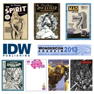 WonderCon and IDW!