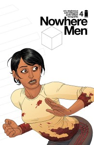 NOWHERE MEN #4 -2nd printing