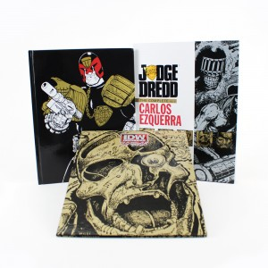 DELUXE HARDCOVER EDITION TO BE SIGNED AND FEATURE ORIGINAL ARTWORK FROM CARLOS EZQUERRA