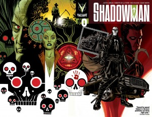 SHADOWMAN #0 cover