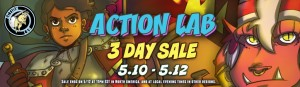 Action Lab 3-Day Sale on Comixology
