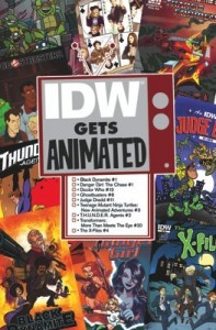 This September, IDW Gets Animated!