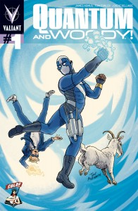 QUANTUM AND WOODY#1 SDCC Liberty Variant