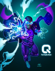 """Is """"Q""""the Graphic Novel the Next African American Super Hero?"""