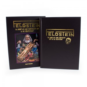 LIMITED-EDITION BOOK COLLECTS THE LIFE OF AL FELDSTEIN IN BEAUTIFUL SLIPCASED FORMAT