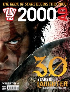 Sláine the Barbarian returns to 2000 AD