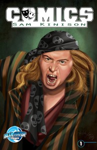 Comedian Sam Kinison Comic Book Hits Stores This Week