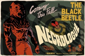 The Black Beetle:  Necrologue
