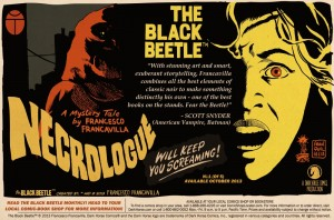 Scott Snyder Endorses Francesco Francavilla's THE BLACK BEETLE!