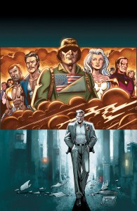 The newest comic book from scribe J. Michael Straczynski tells the tale of one cop's journey through the world of super-powered celebrity