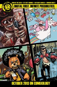 Action Lab Extends Line with New Digital First Books