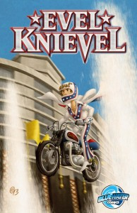 Evel Knievel To Confront New Adventures In Comic Book Series