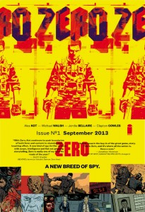 ZERO #1 Lands in Comic Stores on September 18, 2013