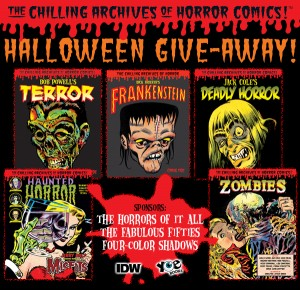 Many Chances to Win Many Horror Comic Classics From Yoe Books & IDW Publishing