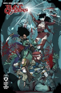 Fresh new fantasy series sells out two issues in a row, second print coming