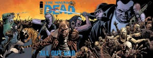 The kickoff of the 10th anniversary celebration of the zombie epic goes back to print