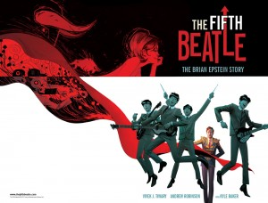 Tenth anniversary issue of Rolling Stone Italy will include Italian version of Brian Epstein graphic novel three weeks prior to official release date