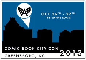 COMIC BOOK CITY CON in GREENSBORO, NC