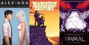ALEX + ADA, UMBRAL, and MANIFEST DESTINY mark a banner week for fantasy and science-fiction comics and creator-owned comics