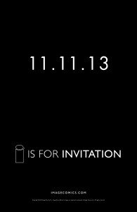 11.11.13 - I is for Invitation