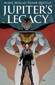 Announcing JUPITER'S LEGACY GIANT-SIZED EDITION, 64 pages of mind bending action for only $3.99
