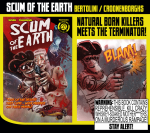 A Southern fried sci-fi series in the grindhouse manner you demand!