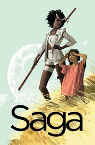 Critics aren't lying: Brian K. Vaughan and Fiona Staples make SAGA a must read this March